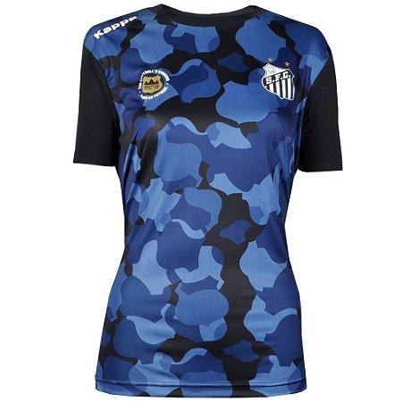 Camisa Santos Pré Match 2016 Feminina