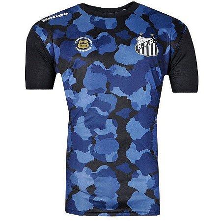Camisa Santos Pré Match 2017 Juvenil
