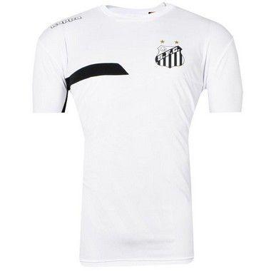 Camisa Santos Treino 2017 Kappa Juvenil