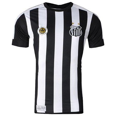 Camisa Santos Jogo II Torcedor 2017 Kappa Masculina