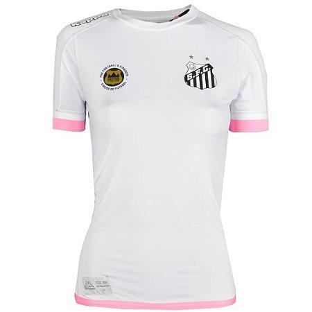 Camisa Santos Jogo I Kombat 2017 Kappa Feminina