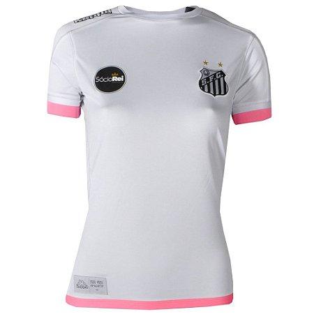Camisa Santos Jogo I Official 2017 Kappa Feminina