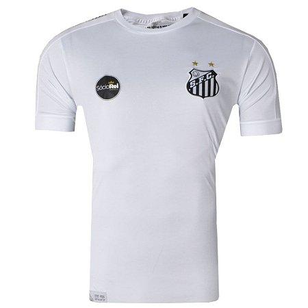 Camisa Santos Jogo I Torcedor 2017 Kappa Masculina