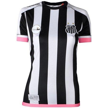 Camisa Santos Jogo II Official 2017 Kappa Feminina