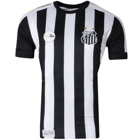Camisa Santos Jogo II Torcedor 2017 Kappa Juvenil