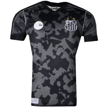 Camisa Santos Jogo III Oficial 2017 Kappa Juvenil  5cdf4425d4205