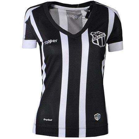 Camisa Ceará Jogo I 2017 Topper Feminina
