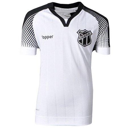 Camisa Ceará Jogo II Sem Patrocínio 2017 Topper Juvenil