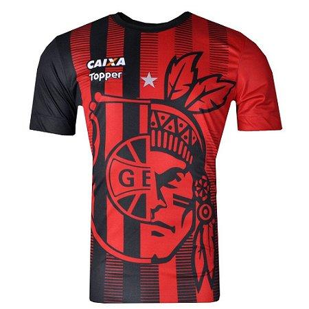Camisa Brasil de Pelotas Aquecimento 2017 Topper Masculina ... 51e808d63e36a