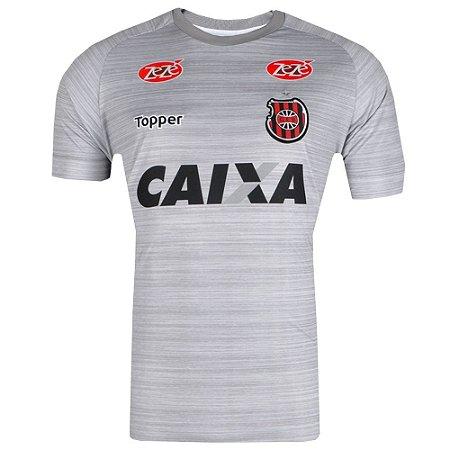 Camisa Brasil de Pelotas Treino Comissão Técnica 2017 Topper Masculina