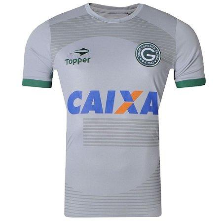 Camisa Goiás Aquecimento 2017 Topper