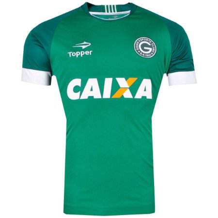 Camisa Goiás Jogo I Nº10 C Patrocínio 2017 Topper Masculina