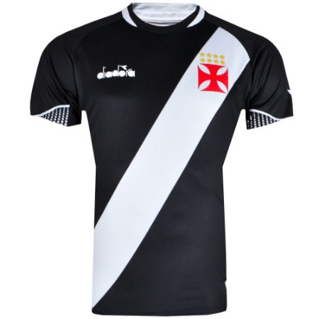 Camisa Vasco Jogo I Game 2018 Diadora Masculina