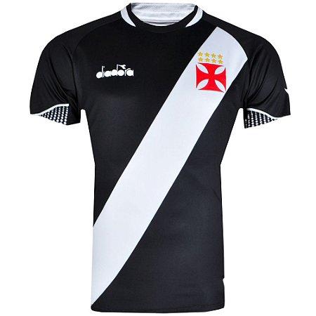 Camisa Vasco Jogo I Fan Plus Size 2018 Diadora Masculina