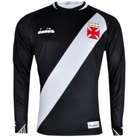 Camisa Vasco Manga Longa I 2018 Diadora Masculina