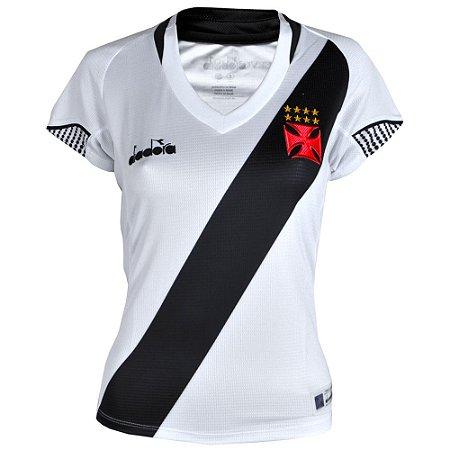 Camisa Vasco II 2018 Diadora Feminina