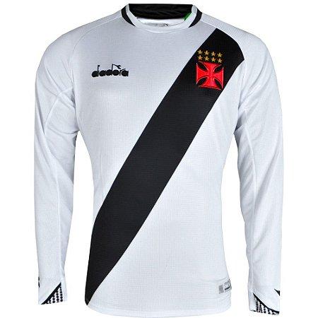 Camisa Vasco II Manga Longa 2018 Diadora Masculina