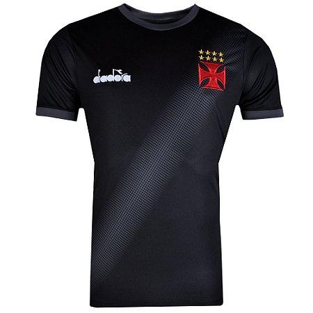 Camisa Vasco Aquecimento 2018 Diadora Masculina