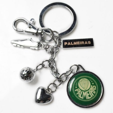 Chaveiro De Metal Pingente Palmeiras