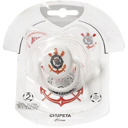 Chupeta Embalagem Camisa Orto Corinthians