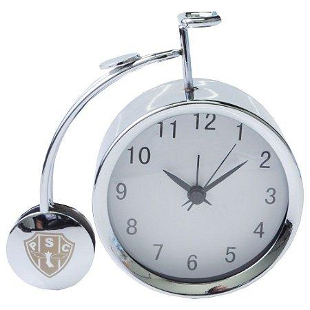 Relógio De Mesa Bicicleta Com Despertador Tamanho 12 CM Payssandu