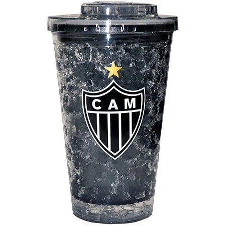 Copo Milk Shake 480ML Gel Frozen Atlético