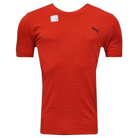 Camisa Vestuário Ess Tee Red Puma Masculina