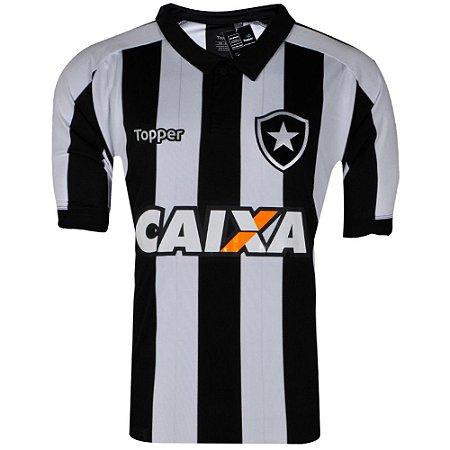 Camisa Botafogo Jogo I 2017 C/Patrocínio Topper Plus Size
