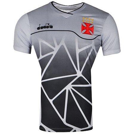 4dd7168da1 Camisa Vasco Treino 2018 Diadora Masculina