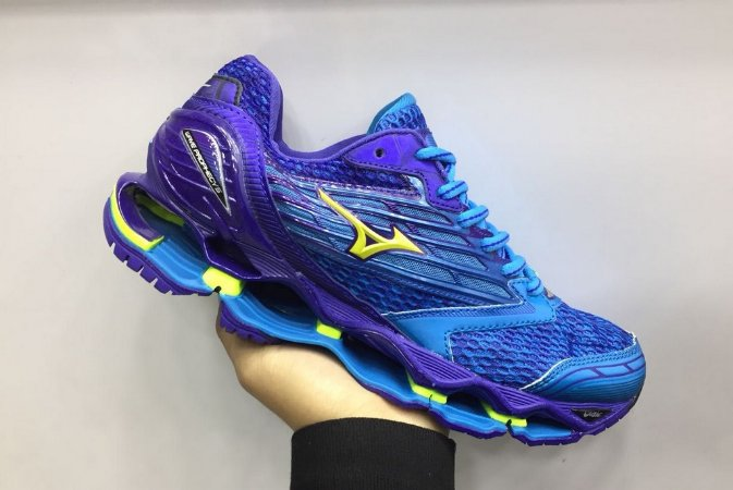 Nike Air Max 2017 · Nike Air Max 97 · Nike Vapormax Plus. Tênis Mizuno Wave  Prophecy 5 Azul e Roxo a430b9b37e347