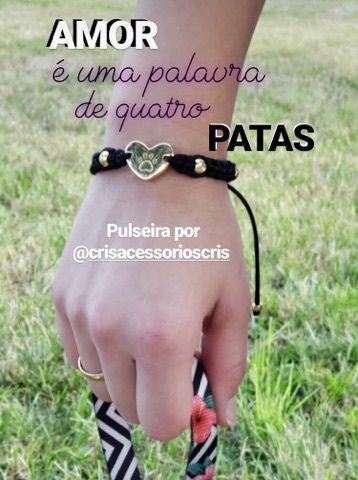 Pulseira PET LOVER ♥ PL8