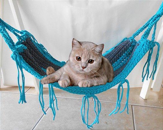 Rede para Gatos em Fio de Malha