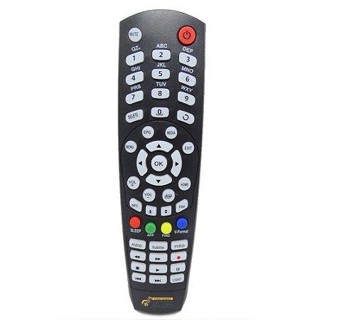 Controle Remoto para Audisat R4 Flix