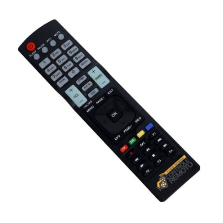 Controle Remoto para Receptor Cinebox Optimo X2