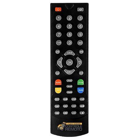 Controle Remoto para  Globalsat Gs 120 Plus