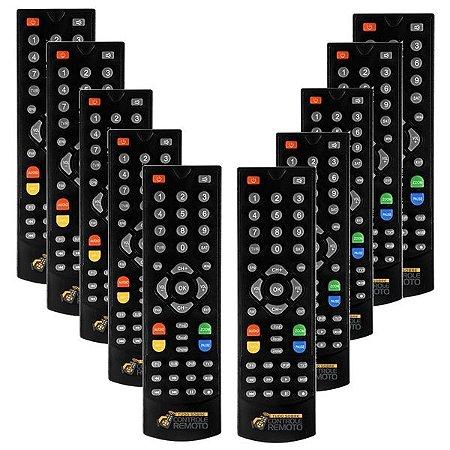 Kit  para Revenda Atacado 10 Controle Remoto Globalsat