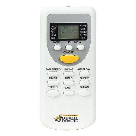 Controle Remoto para Ar Condicionado Komeco / Rheem / York ZH/JT-03