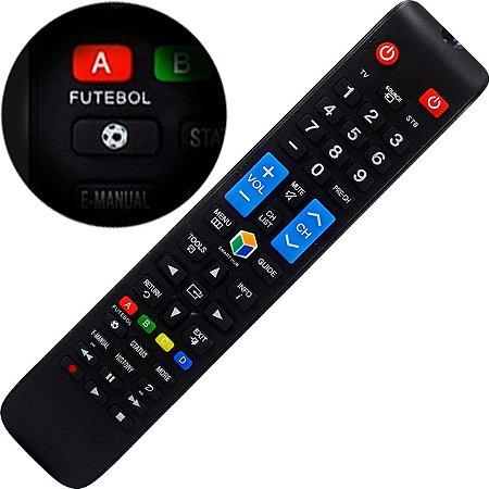 Controle Remoto para TV LCD / LED Samsung AA59-00808A / BN98-04428A