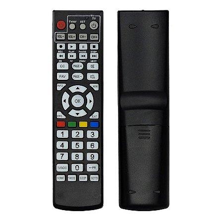 Controle Remoto Century Midiabox SHD 7050 / SHD 7100