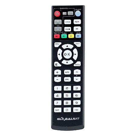 Controle Remoto Globalsat Gs 120 Pro