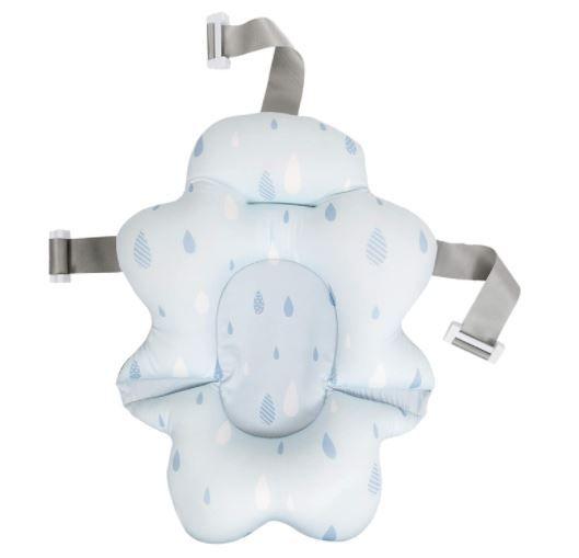 Almofada para Banho Com Fivela Ajustável Azul - Buba