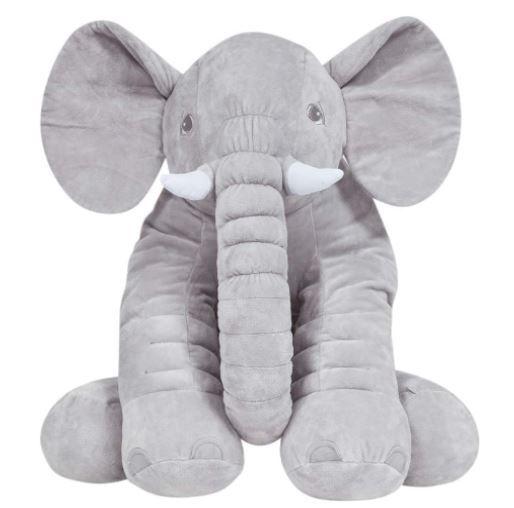 Almofada Elefante Gigante Cinza - Buba