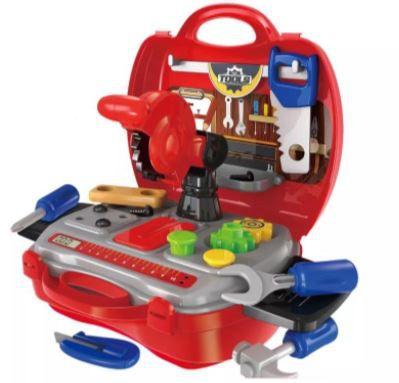 Kit Maleta Construtor Infantil Workshop Junior - Multilaser