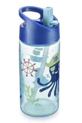 Garrafinha Refresh em PP Azul - Multikids