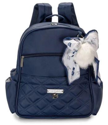 Mochila Maternidade Lu Soldadinho Azul Marinho - Masterbag