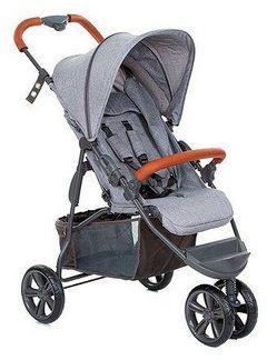 Carrinho de Bebê Passeio MOVING LIGHT Woven Grey - ABC Design