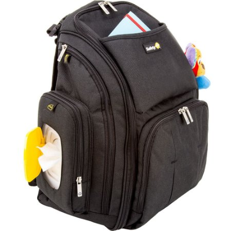 Mochila BACK'PACK Preta - Safety 1st