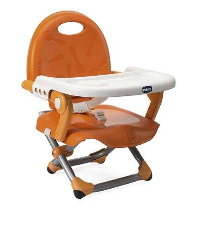 Cadeira de Alimentação POCKET SNACK Mandarino - Chicco