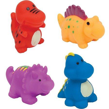 Brinquedo de Banho Bichinhos para Banho DINO 4 unidades +3m - Buba