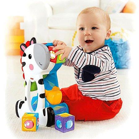 Brinquedo Zebra com Blocos - Fisher Price